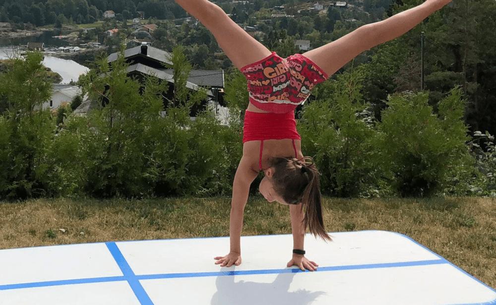 air poland dmuchane ścieżki gimnastyczne airtrack